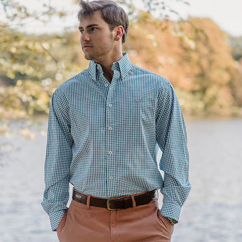 The Nashville Gingham - Wrinkle Free - Collegiate - Baylor University