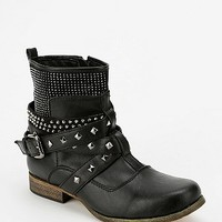 Wanted Ditmar Studded Moto Boot