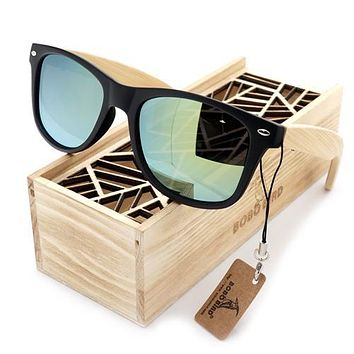 """The """"Say Cheese"""" - Bamboo Sunglasses"""