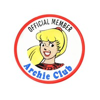 Riverdale - Archie Club Leather Patch - Betty
