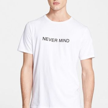 Men's rag & bone 'Never Mind' T-Shirt,