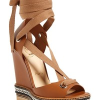 Women's Christian Louboutin 'Tribuli' Wedge Sandal,