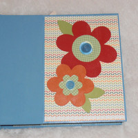 6x6 Floral Scrapbook Album Photo Album