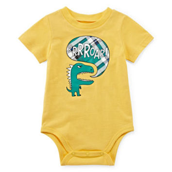 Okie Dokie® Graphic Bodysuit - Baby Boys newborn-24m