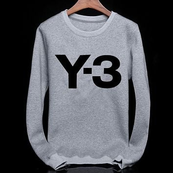 Boys & Men Y-3 Fashion Casual Top Sweater Pullover