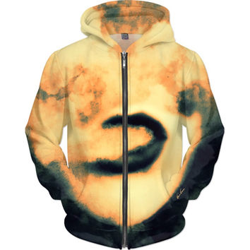 Chasing Clouds Without Running Out Of Breath Vape Art Zip Hoodie |Ocdesignzz