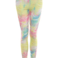 Cloud Print Legging - View All - Sale & Offers - Miss Selfridge US