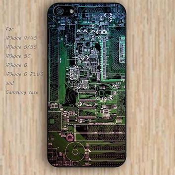 iPhone 5s 6 case colorful Circuit board design phone case iphone case,ipod case,samsung galaxy case available plastic rubber case waterproof B380