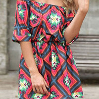Red Slash Collar Half Sleeves Romper