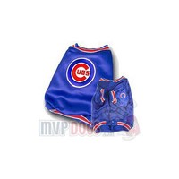 Chicago Cubs MLB Dog Dugout Jacket