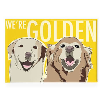 Tree-Free Greetings Eco-Notes Thank You Card Set, 4 x 6 Inches, 12-Count Cards with Envelopes, Golden Retriever (94578)