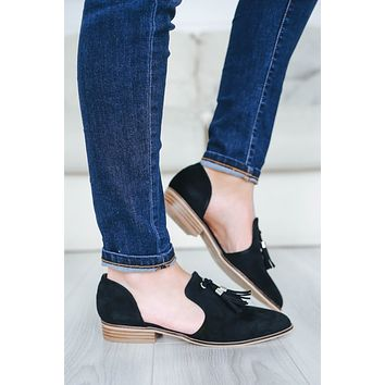 Sassy & Chic Loafers - Black