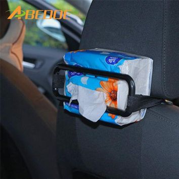 DCCKU7Q ABEDOE Car Visor Tissue Paper Box Holder Mounted On Sun Visor Seat Back Paper Napkin Box Bracket Clip Auto Accessories