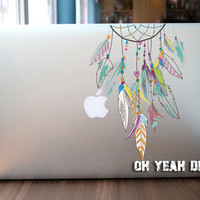 Colorful MONTERNET  macbook decal,Macbook Pro/Air/Ipad Stickers,Macbook Decals,Apple Decal for Macbook Pro / Macbook Air/laptop 1336