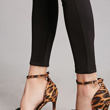 Shoe Republic Leopard Heels