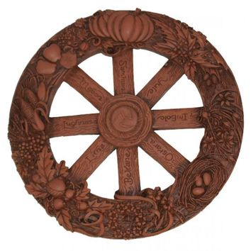 Celtic Pagen Wheel of the Year Wall Hanging from JL Rocken