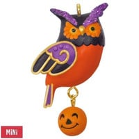 Wee Little Owl Mini Halloween Ornament