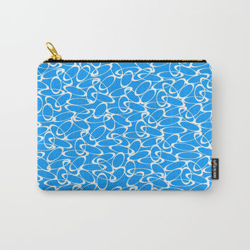 Circleof Blues  Carry-All Pouch by Robleedesigns