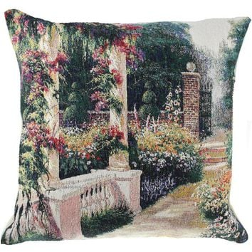 Open Gate Decorative Pillow Cushion Cover