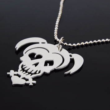 Shop harley necklace on wanelo for Harley quinn and joker jewelry