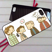 Supernatural funny - case iPhone 4/4s,5,5s,5c,6,6+samsung s3,4,5,6