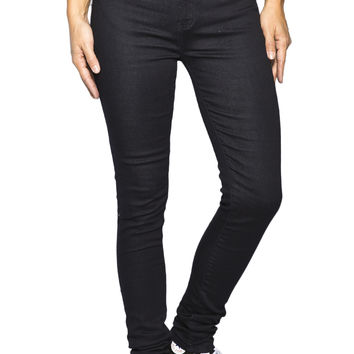 Girls High Rise Jegging - Rinse Wash