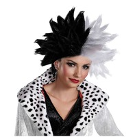 Disney Cruella De Vil Wig - Adult (White/Black)