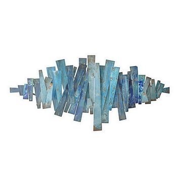 Abstract Metal Wall Art -- 51-in