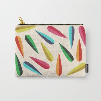Feathers II Carry-All Pouch by Trevor May