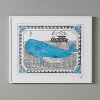 High Spirits Wall Art by Molly Hatch Hawaiian Blue It's Okay House & Home