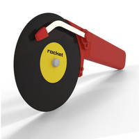 Top Spin Pizza Cutter