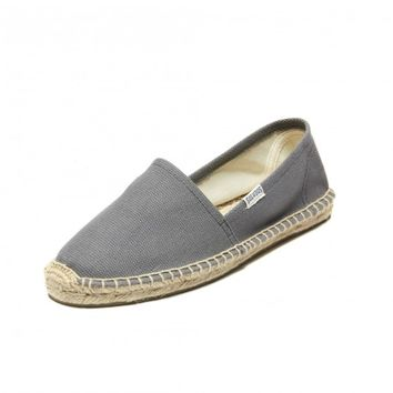 Dali-Charcoal Espadrilles for Women from Soludos - Soludos Espadrilles
