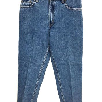 Levi's 550 Made in USA Relaxed Fit Tapered Leg Womens Juniors Size 11 M 31x28.5 - Preowned