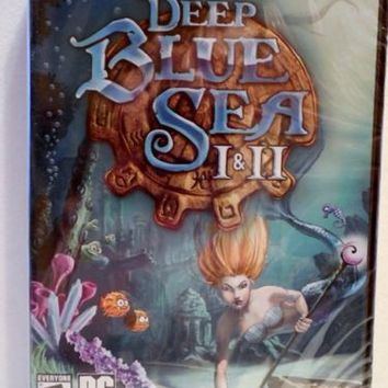 Deep Blue Sea I & II (PC, 2012) Windows XP/ME/Vista