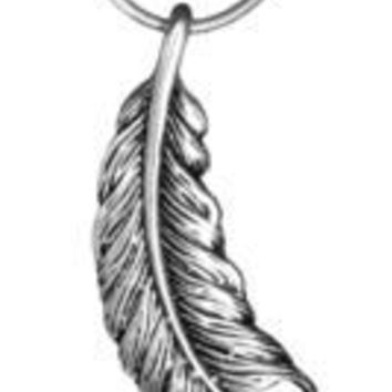 Sterling Silver Feather Pendants