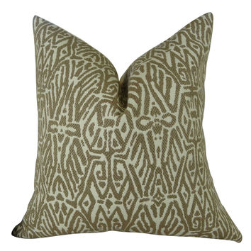 Plutus Trendy Look Handmade Throw Pillow