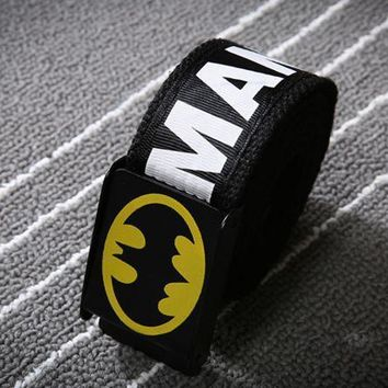 Batman Aape Canvas Unisex Waistband