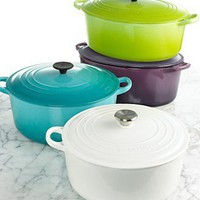 Le Creuset Enameled Cast Iron Collection - Customers' Top Rated Le Creuset - Kitchen - Macy's