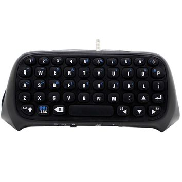 Bevigac Mini Wireless Bluetooth Keyboard Keypad Key Chatpad Chat Pad for Sony PlayStation Play Station PS 4 PS4 Game Controller