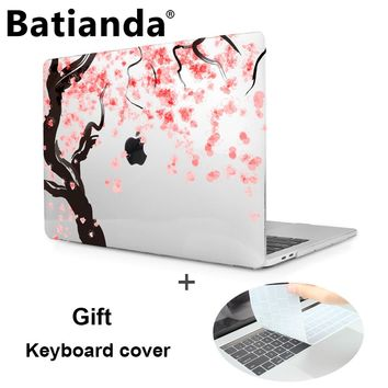 Case For New MacBook Pro 13 15 Retina 2016 2017 touch Bar A1706 A1707 non touch bar A1708 Laptop Hard Case Cover+Keyboard Cover
