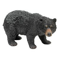 Park Avenue Collection Walking Black Bear Statue