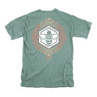Sweeter Than Honey Tee in Light Green by Lily Grace