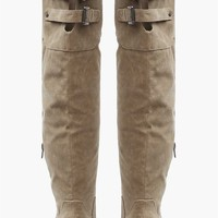 Manhattan Boot in Taupe