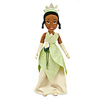 Tiana Plush Doll - The Princess and the Frog - 21''