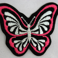 Butterfly Patch Pink