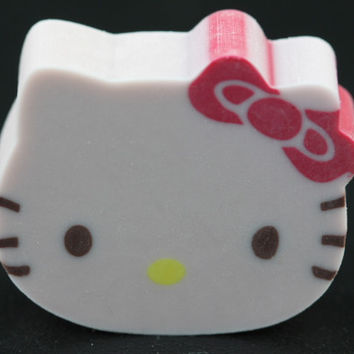 Die Cut Vanilla Scented Hello Kitty Eraser