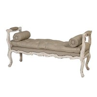 GuildMaster 659 Queen Anne Hall Entry Bench  - Decor Universe