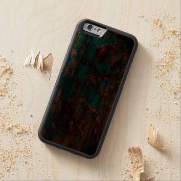 Natural Turquoise V5 Carved® Walnut iPhone 6 Bumper