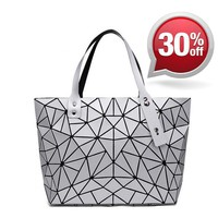Geometric Hologram Handbag/Shoulder Shoulder Beach Tote Purse Canvas Handbags Totes Bags
