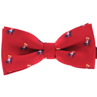 Tok Tok Designs Pre-Tied Bow Tie for Men & Teenagers (B310 , Red)